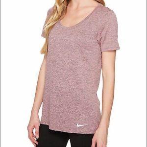 Women's Dry Legend Scoop Veneer T-Shirt